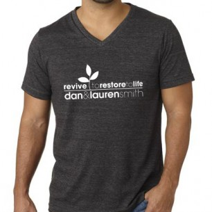 Men&#8217;s Charcoal Gray T