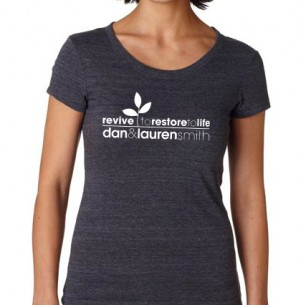 Women&#8217;s Charcoal Gray T