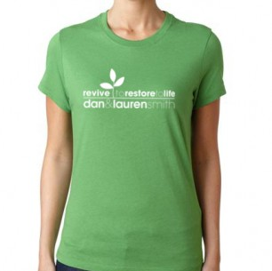 Women&#8217;s Leaf Green T